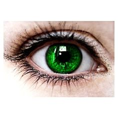 Green Eyes by Naivety28629 via Polyvore featuring beauty products, eyes, makeup, beauty, eye makeup, detail and embellishment