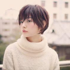 Hairstyles For Kids With Long Hair Girl Short Hair, Short Hair Cuts, Short Hair Styles, Dye My Hair, New Hair, Japanese Haircut Short, Hair Reference, Asian Hair, Hair Designs