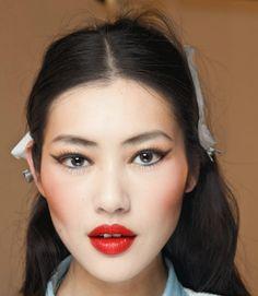 liu wen makeup - Google Search