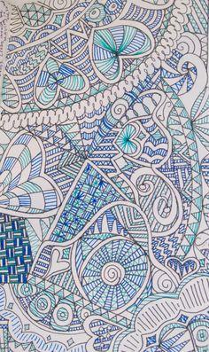 Art Journal Zentangle