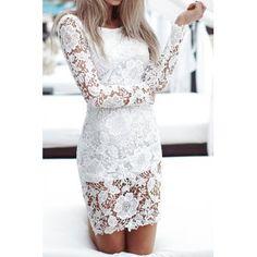 Pattern women s lace dress white s in lace dresses dresslily com