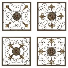 4-Piece Cherrelle Wall Decor Set