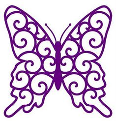 scroll butterfly and other free svg files