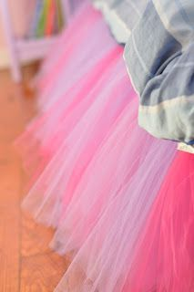 This tutu bed skirt is tutu CUTE! Make for Luci next bed, then Maggie.