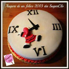 una torta bella e buona per augurare happy new year