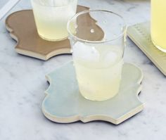 DIY Drink Trivets | photo Angus Fergusson | Stylist Holly Meighen |House & Home #Contest | Find instructions and more DIY ideas in our guide + enter to win a @HomeDepotCanada gift card! http://houseandhome.com/design/guide/diy-home-improvement