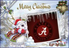 Merry Christmas & Roll Tide Roll