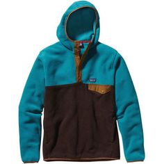 """I use this jacket almost every day now that its gotten colder. Everyone always asked me if that really is a hood on my Patagonia."" Synchilla Snap-T Hoody (Men's) #Patagonia at RockCreek.com #customerreview"