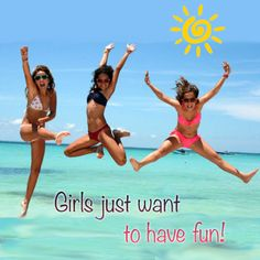 #girls just want to have #fun....at the #beach!