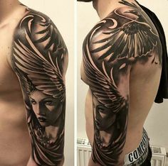 Bird and angels wing tattoo #tattoo #wings #fly