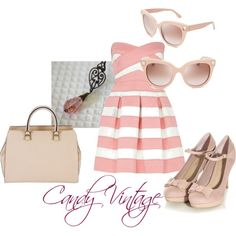 """Candy Vintage"" by accessories-boutique on Polyvore"