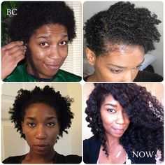 Hair Journey from Big Chop to present.