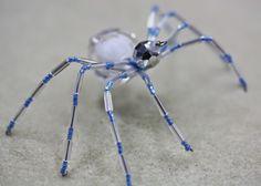 "Beading the ""Bead World"" Way: ""Icy Christmas Spider"" Beading Tutorial"