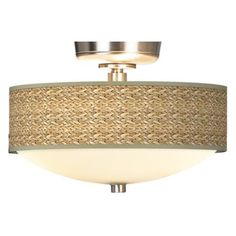 Love this ceiling fan light kit. Via LampsPlus.com