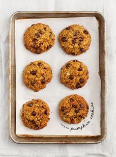 Pumpkin Oatmeal Chocolate Chip Cookies Recipe - Love and Lemons