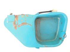 1983 Yamaha DT80 DT 80 Used Oil Injection Tank Reservoir Side Cover | eBay