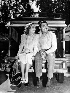 Carol Lombard and Clark Gable