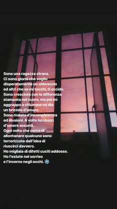 E te i quali aria sei Tumblr Quotes, Bff Quotes, Mood Quotes, Foto Instagram, Instagram Story, Sunset Quotes, Italian Quotes, Special Words, Take Me Out