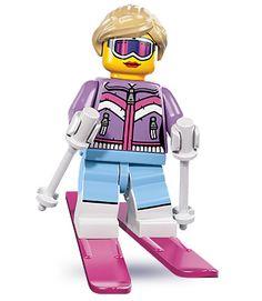 Downhill Skier series 8 lego