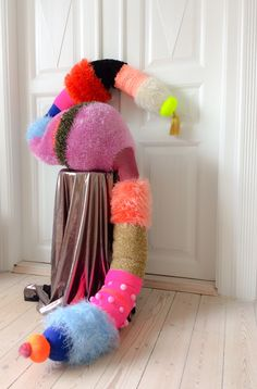 Knitted object by Stine Leth /2015