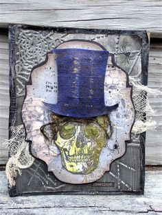 Frilly and Funkie: Friday Focus - Prima Paints; Aug 2017 #timholtz #rangerink #sizzix #stampersanonymous #distressoxides #primapaints #halloween