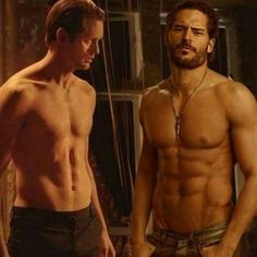 Eric or Alcide--think I'll fill a coin, I'm a winner either way!!!