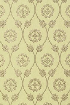 Kawazu #wallpaper in #sage from the Shangri-La collection. #Thibaut