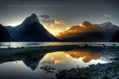 Fine art landscape photography. Milford Sounds by NathanGoshgarian