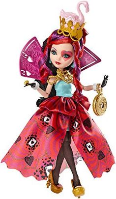 Ever After High Way Too Wonderland Lizzie Hearts Doll(Discontinued by manufacturer)