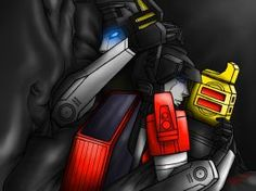 So I was checking out some old drawings of mine and I saw the old version of this. I realized how much it sucked, so I said the hell with it and did . Transformers Funny, Transformers Autobots, Transformers Characters, I Love You Pictures, Big Hugs, Cuddling, Twins, Old Things, Deviantart