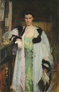 Bertha Vaughan, 1901, by Cecilia Beaux