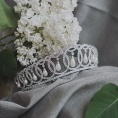 Fit for a royal wedding, our bridal tiaras & crowns are the perfect way to add regal elegance to your bridal look. Wedding Tiaras, Name Photo, Bridal Tiara, Tiaras And Crowns, Crystal Wedding, Wedding Hair Accessories, Bridal Looks, Headpiece, Wedding Hairstyles
