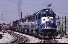 RailPictures.Net Photo: EMD 7 Southern Pacific Railroad EMD GP60 at Los Angeles, California by David Giglio