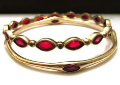 Buy ruby Vintage Estate Wedding Prom jewelry on The Sparklotron