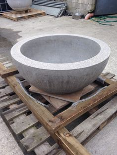 Beautiful ceramic fire bowls, all sizes, this one 800mm, perfect for summer nights check out Halodesign.co