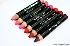 Maybelline Color Drama Velvet Lip Pencil Review. These are only in the UK and it makes me sad.