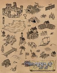 Image result for fantasy map symbol