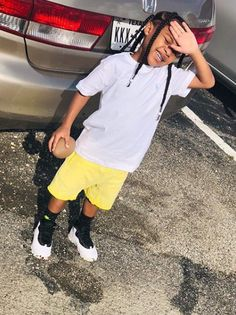 Little Boy Swag, Baby Boy Swag, Cute Little Girls Outfits, Toddler Outfits, Kids Outfits, Black Baby Boys, Cute Black Babies, Beautiful Black Babies, Baby Boy Hairstyles