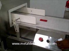 Carton Inspection Metal Detector for seafood / Frozen seafood / Surimi / Frozen seafish Industry.:http://www.metaldetectorasia.com