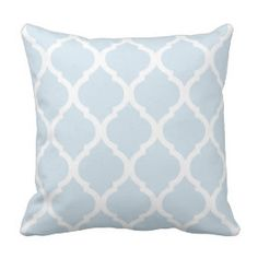 Classic pattern throw pillow