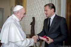 Il popolare attore e' stato ricevuto in Vaticano  (ANSA)