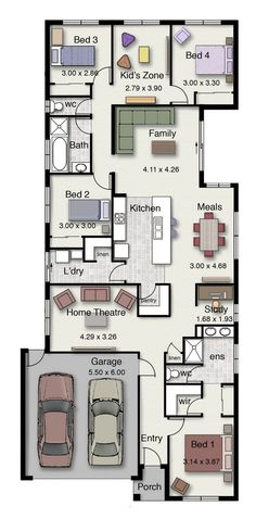 The Birchgrove 220 is a popular design with four bedrooms and two bathrooms.