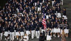 US Olympic team enters
