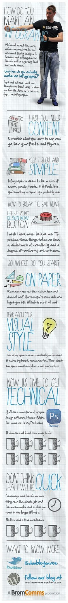 Fun & Simple - How Do You Make an Infographic? from www.bromcomms.wordpress.com