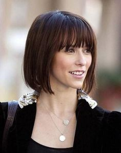 Hairstyle with pony bob - Fashionable Haircuts and Hair Dyes - Ladies Hair  #fashionable #haircuts #hairstyle #ladies Short Hairstyles Fine, Inverted Bob Hairstyles, Vintage Hairstyles, Hairstyles With Bangs, Pretty Hairstyles, Bangs Hairstyle, Short Hair With Bangs, Short Hair Cuts For Women, Short Hair Styles