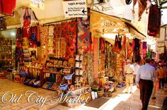 When you're in the Old City of Jerusalem, don't forget to pass through the market. Who knows what treasures you'll find there...