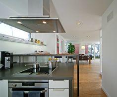 Diese offene Küche ist funktional und kommunikativ - Gäste ...