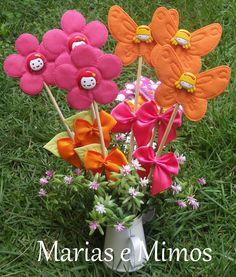 Flores e Borboletas Butterflies, Flowers