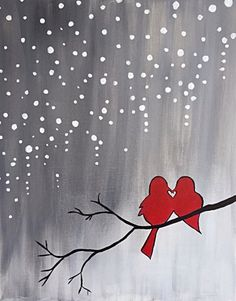 Paint Nite - Baby, It's Cold Outside. Use ORLANDOVIP at checkout for $20 off all tickets http://paintnite.com