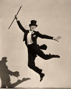 "And can you blame them?: ""People think I was born in top hat and tails."" -Fred Astaire"